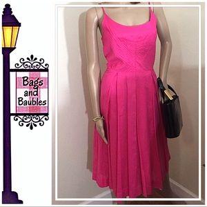 TORY BURCH Malta Sleeveless Pink Dress, Size 4 NWT